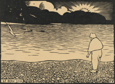 Félix Vallotton A Fine Evening (Le beau soir)