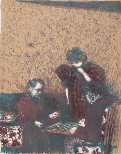 Edouard Vuillard A Game of Checkers (La partie de dames)
