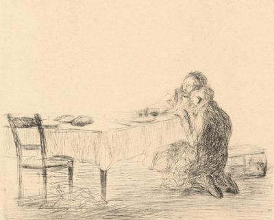 Jean Louis Forain After the Apparition (Après l'apparition)