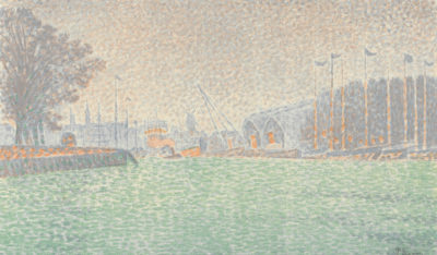 Maurice Denis At Vlissingen (A Flessingue)