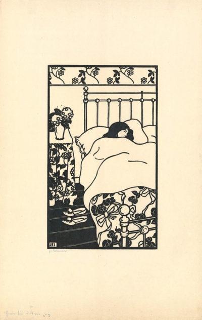 Jean-Emile Laboureur Awakening (Réveil)