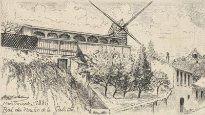 Eugène Delâtre Bal du Moulin de la Galette