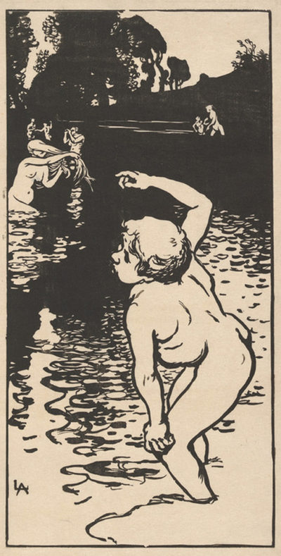 Auguste Lepère Bathing