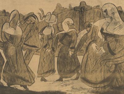 Émile Bernard Breton Dancers