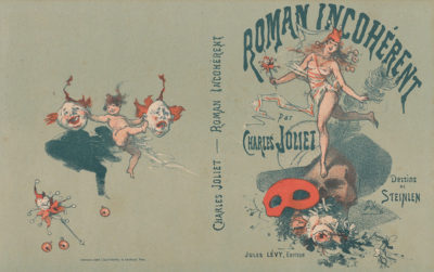 Jules Chéret Cover for the book Roman incohérent by Charles Joliet