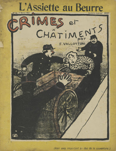 Félix Vallotton Crimes et châtiments