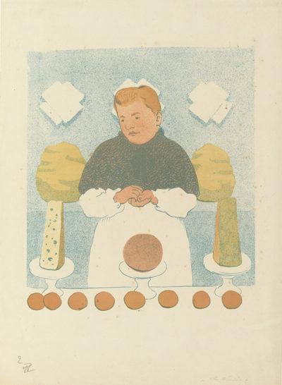 Hermann-Paul Dairywoman (La crémière)