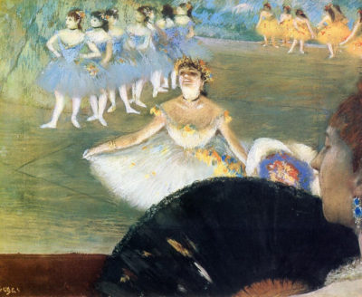Edgar Degas Dancer with a Bouquet of Flowers