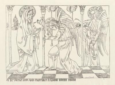 Émile Bernard The Annunciation (L'Annonciation)
