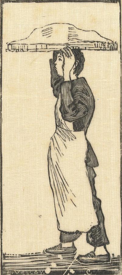 Lucien Pissarro Pastrycook (Le pâtissier)