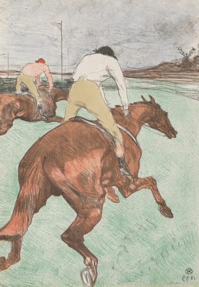Henri de Toulouse-Lautrec The Jockey (Le jockey)