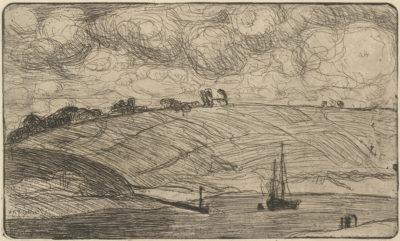 Armand Séguin The Mooring (L'entrée de la rivière)
