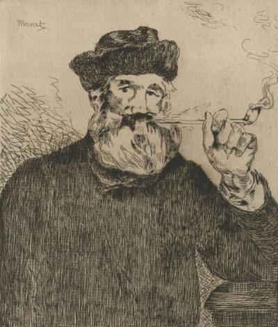 Edouard Manet The Smoker (Le fumeur)