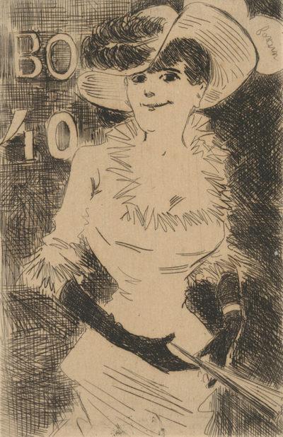 Jean Louis Forain Street Walker (L'ambulante)
