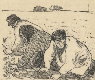 Félix Vallotton Weeders (Les sarcleurs)
