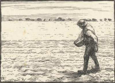 Eugène Carrière Sower (Le semeur)