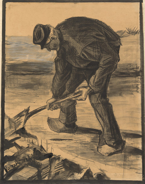 Vincent Van Gogh Digger