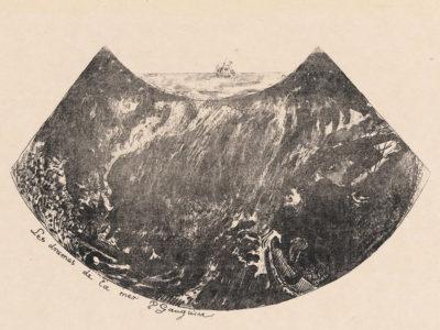 Paul Gauguin Dramas of the Sea (A Descent into the Maelstrom) (Les drames de la mer (Une descente dans le maelstrom)) from the series Volpini