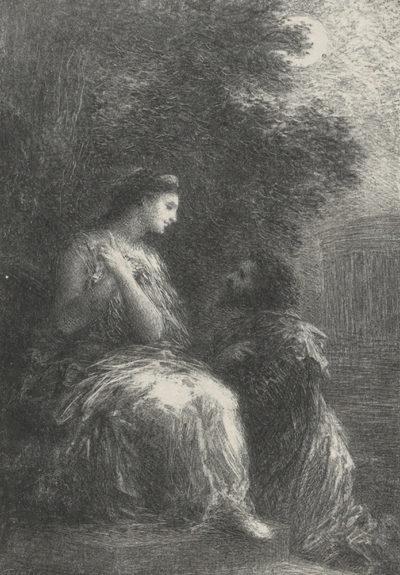Henri Fantin-Latour Duo des Troyens from the journal Revue de l'art ancien et moderne (10 November 1903)