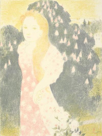 Maurice Denis Dusk has the Sweetness of Old Painting (Les crépuscules ont une douceur d'ancienne peinture)