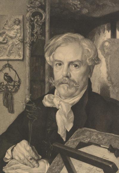 Félix Vallotton Edmond de Goncourt