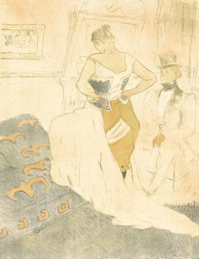 Henri de Toulouse-Lautrec Femme en corset
