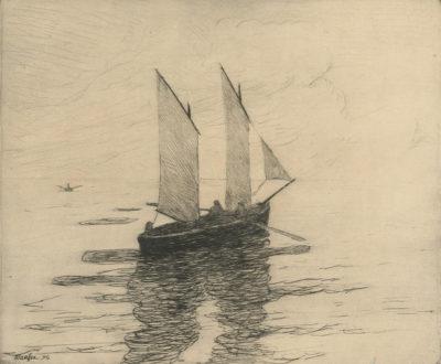 Maxime Maufra Fishing Boat (Le bateau de pêche)