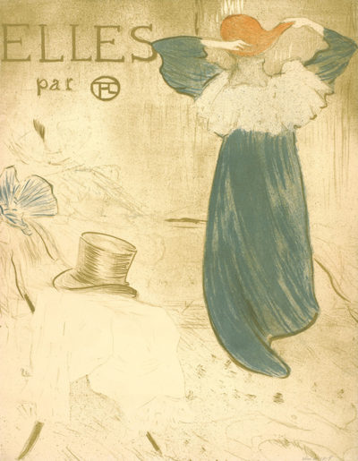 Henri de Toulouse-Lautrec Frontispiece of the series Elles