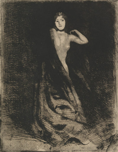 Albert Besnard Frontispiece of the series La Femme
