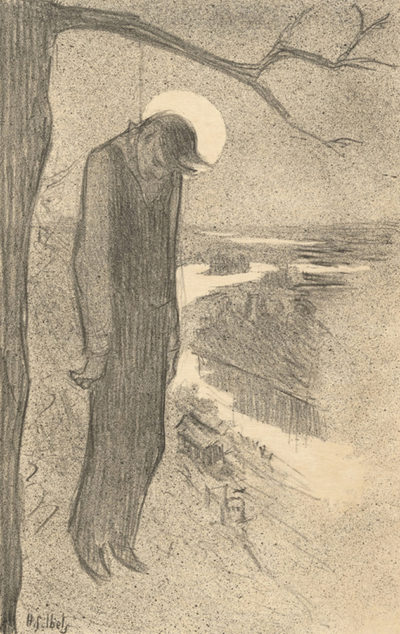 Henri Gabriel Ibels Hanged Man (Le pendu)
