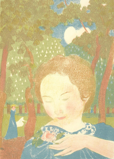 Maurice Denis Her Posture is Easy