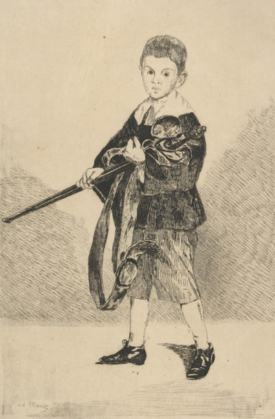 Edouard Manet The Boy with a Sword