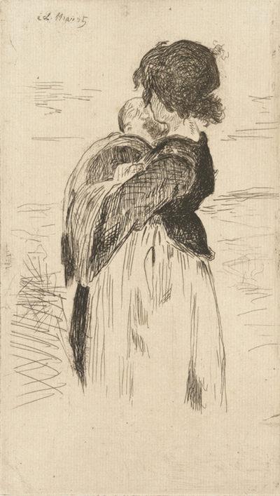 Edouard Manet The Little Girl (La petite fille)