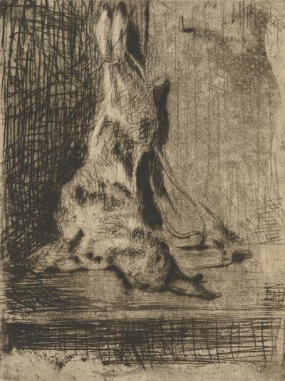 Théophile Alexandre Steinlen The Rabbit (Le lapin)