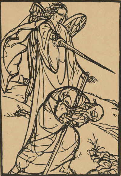 Émile Bernard Illustration from the artists' book Le Juif errant by Émile Bernard