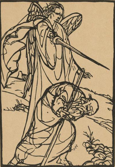 Émile Bernard Illustration from the artists' book Le Juif errant by Émile Bernard