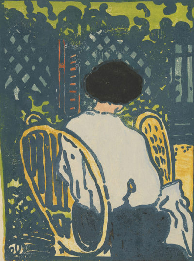 Jean-Emile Laboureur In the Garden (Dans le jardin)
