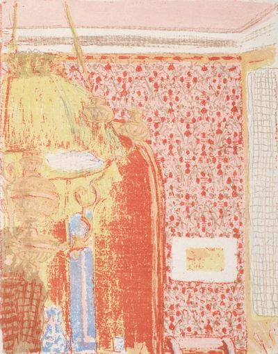 Edouard Vuillard Interior with Pink Wallpaper II (Intérieur aux tentures roses II)