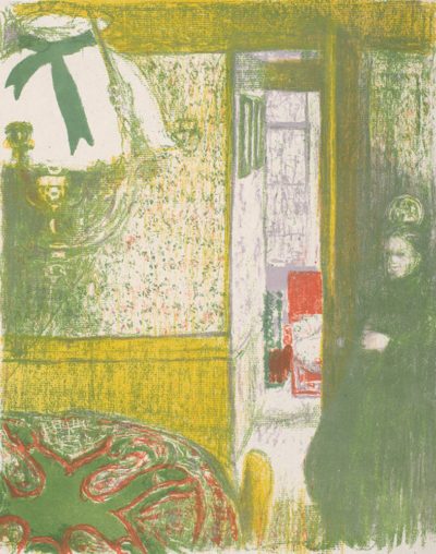 Edouard Vuillard Interior with a Hanging Lamp (Intérieur à la suspension)