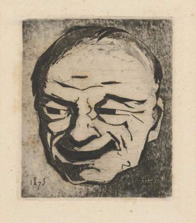 Henri Charles Guérard Japanese Mask