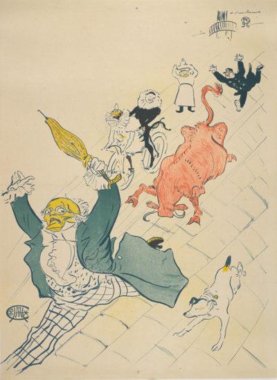 Henri de Toulouse-Lautrec La Vache enragée