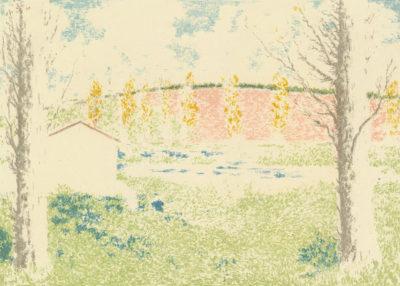 Ker-Xavier Roussel Landscape with a House (Paysage avec maison)