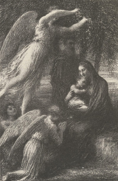 Edouard Vuillard L'enfance du Christ