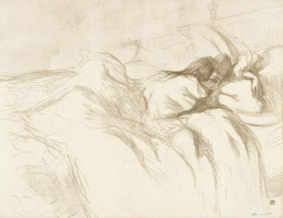 Henri de Toulouse-Lautrec Woman Lying in Bed