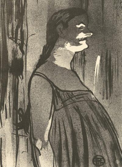 Henri de Toulouse-Lautrec Madame Abdala
