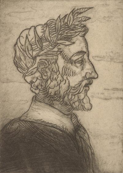 Émile Bernard Man with Laurel Wreath