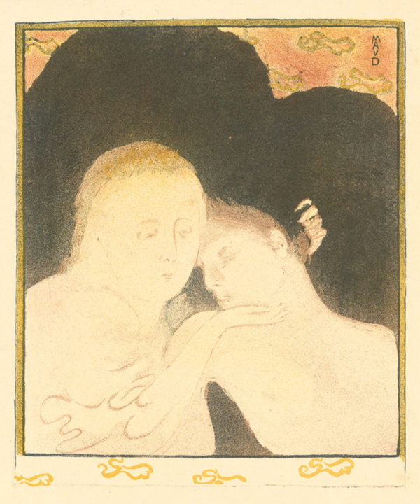 Maurice Denis Mary Magdalene (Two Heads) (Madeleine (Deux têtes))