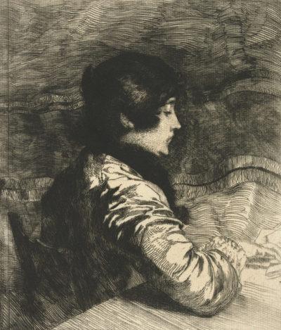 Albert Besnard Mevrouw Besnard (Madame Besnard)