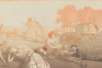 Auguste Lepère Modern Arcadia (Bucolique moderne)