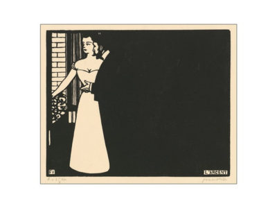 Félix Vallotton Money (L'argent) from the Series Intimités